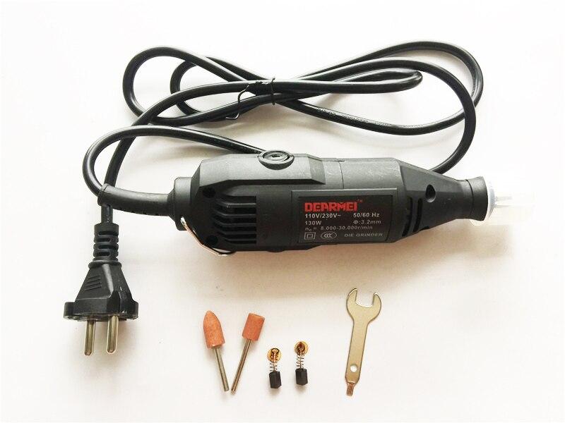 New 130W Mini-mill Grinding Machine Engraving Pen Electric Drill DIY Drill Electric Rotary Tool Mini Drill  цены