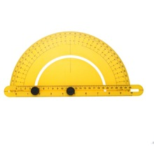 Транспортир Угол Finder Артикуляционная рука сложить линейку измерения 180 градусов 30 см правило Калибр дюймов метрический
