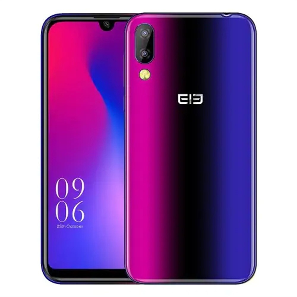 Elephone A6 Mini 5.71'' Waterdrop Screen Mobile Phone Android 9.0 MT6761 Quad Core HD+ 4GB 32GB/64GB 16MP 4G LTE Smartphone