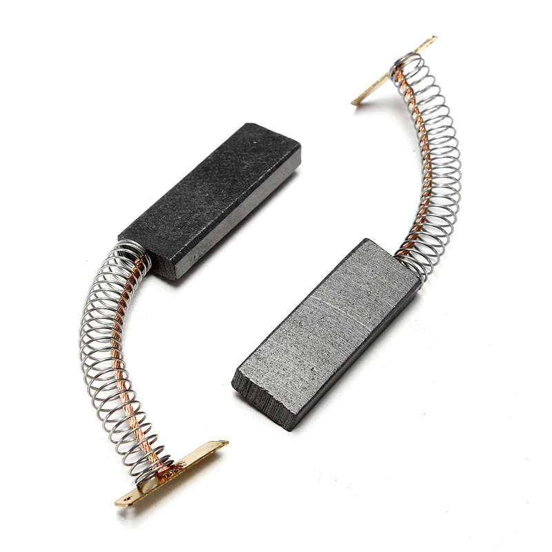1Pair 36x12.5x5mm Motor Carbon Brushes For BOSCH NEFF For SIEMENS Washing Machine