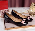 2017 new women pumps sexy high heels genuine leather brand woman wedding valentine shoes . DA038