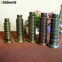 Italy Leaning Tower Pisa home Decoration Accessories figurine Tourist souvenirs interior decor Creative miniature Ornaments