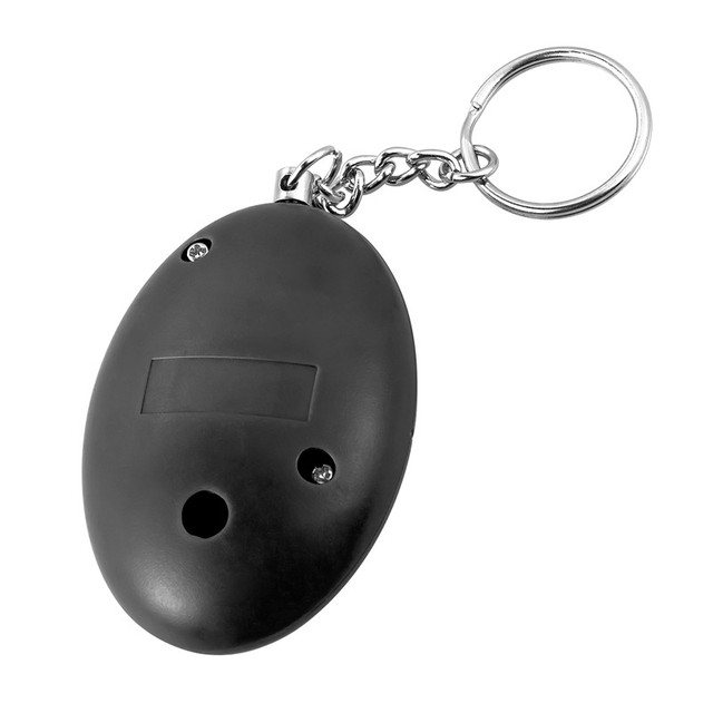 Self Defense Alarm 120dB Egg Shape Girl/Women Security Protect Alert Personal Safety Scream Loud Keychain Emergency Alarm