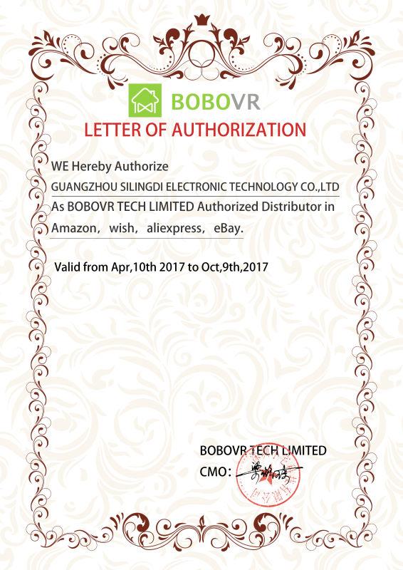 bobovr z4 authorized