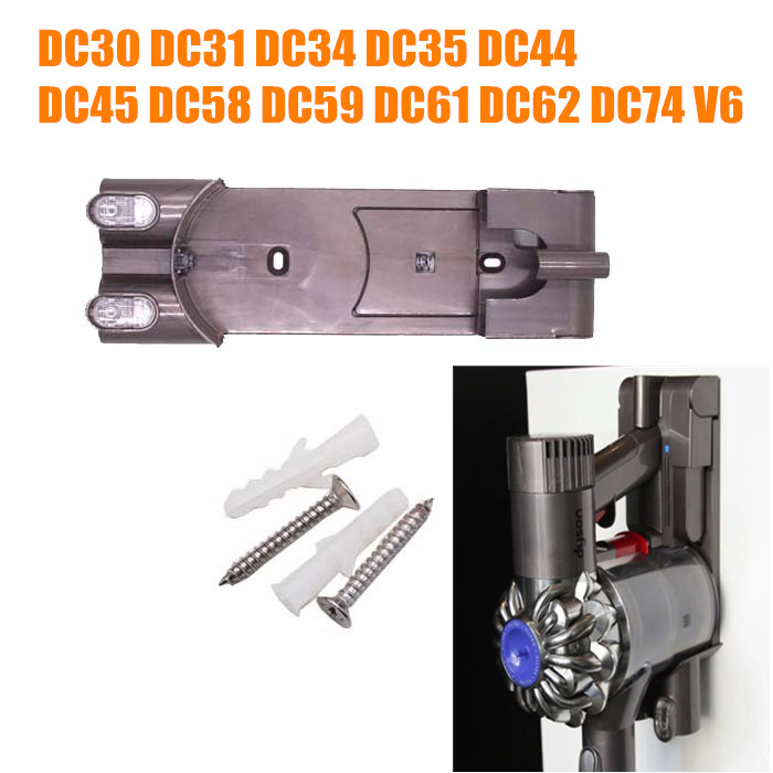 Vacuum Cleaner Parts Pylons charger hanger base for dyson DC30 DC31 DC34 DC35 DC44 DC45 DC58 DC59 DC61 DC62 DC74 V6 комплект белья волшебная ночь biruza евро наволочки 50х70 см