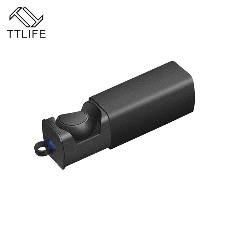 TTLIFE Bluetooth Waterproof Earphone Wireless CSR 8615 Sport Headphone with Noise Cancelling HD Mic Earbuds for Phones xiaomi ttlife bluetooth earphone
