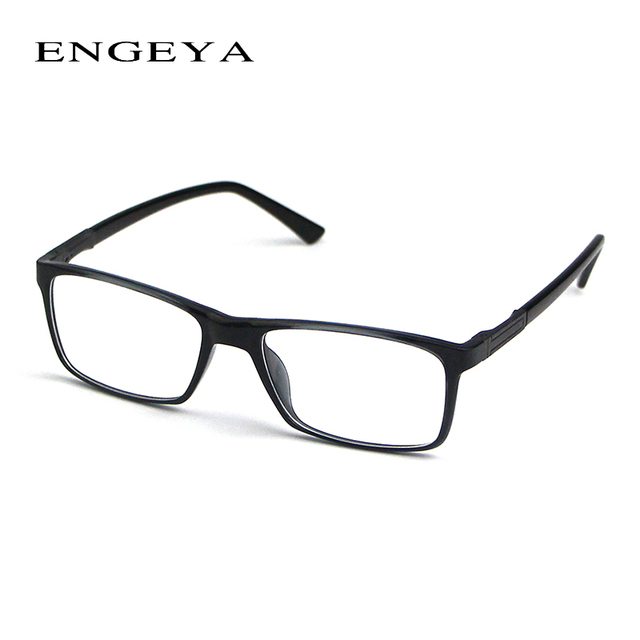 2016 ENGEYA High Quality Men TR90 Brand Glasses Frame,Clear Fashion Myopia Glasses Optical Eyeglasses Frame 3 Bright Colors 2009