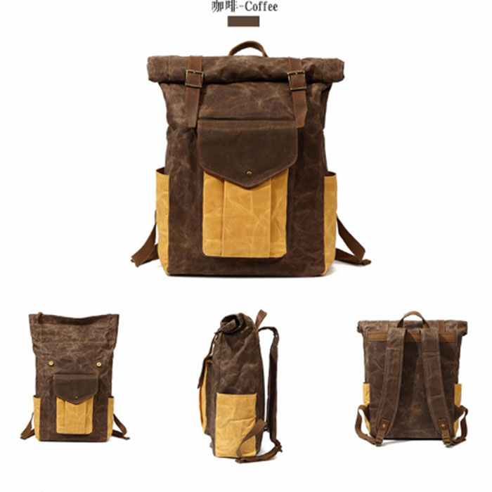 New arrive fashion Casual Canvas Men Backpack Retro Vintage Male Students School Bags Man backpack цена