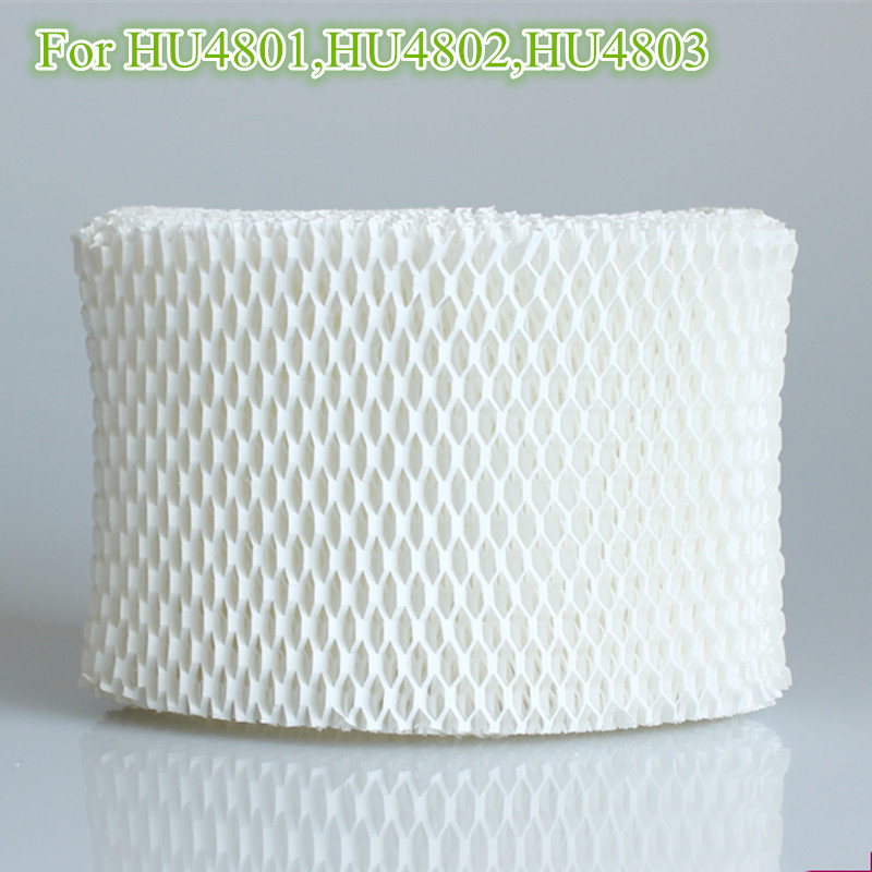 2 pieces/lot Humidifier filters,Filter Bacteria and scale for Philips HU4801 HU4802 HU4803 Humidifier Parts Rated 4.9 /5 10 pieces lot 8mm 64mm humidifiers filters can be cut cotton swab for air humidifier
