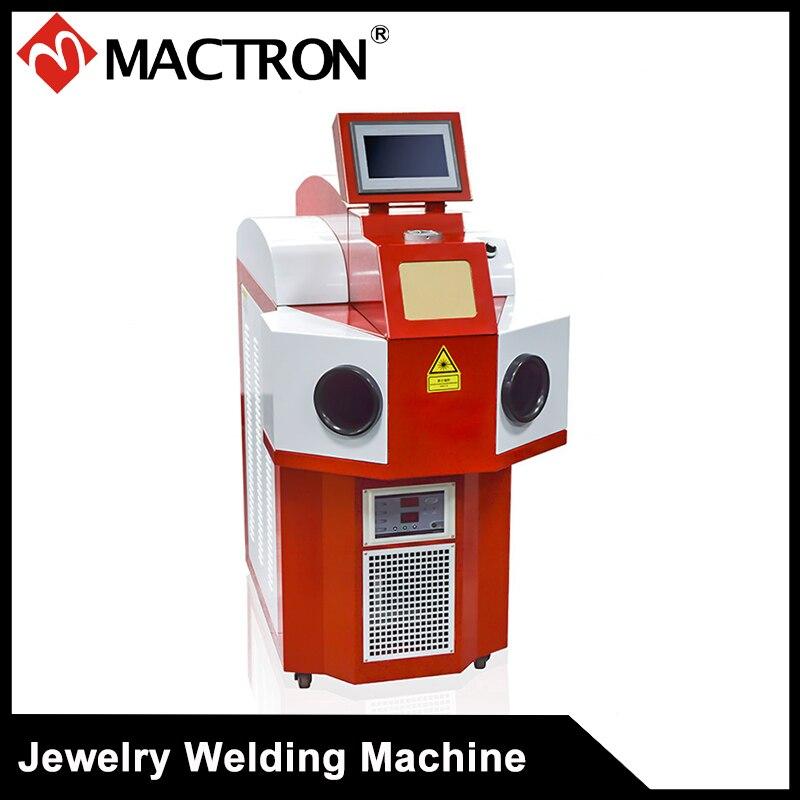 Machine de soudure de Laser de bijoux de Machine de soudure de Laser de 200 W YAG pour l'or, matériaux d'argent