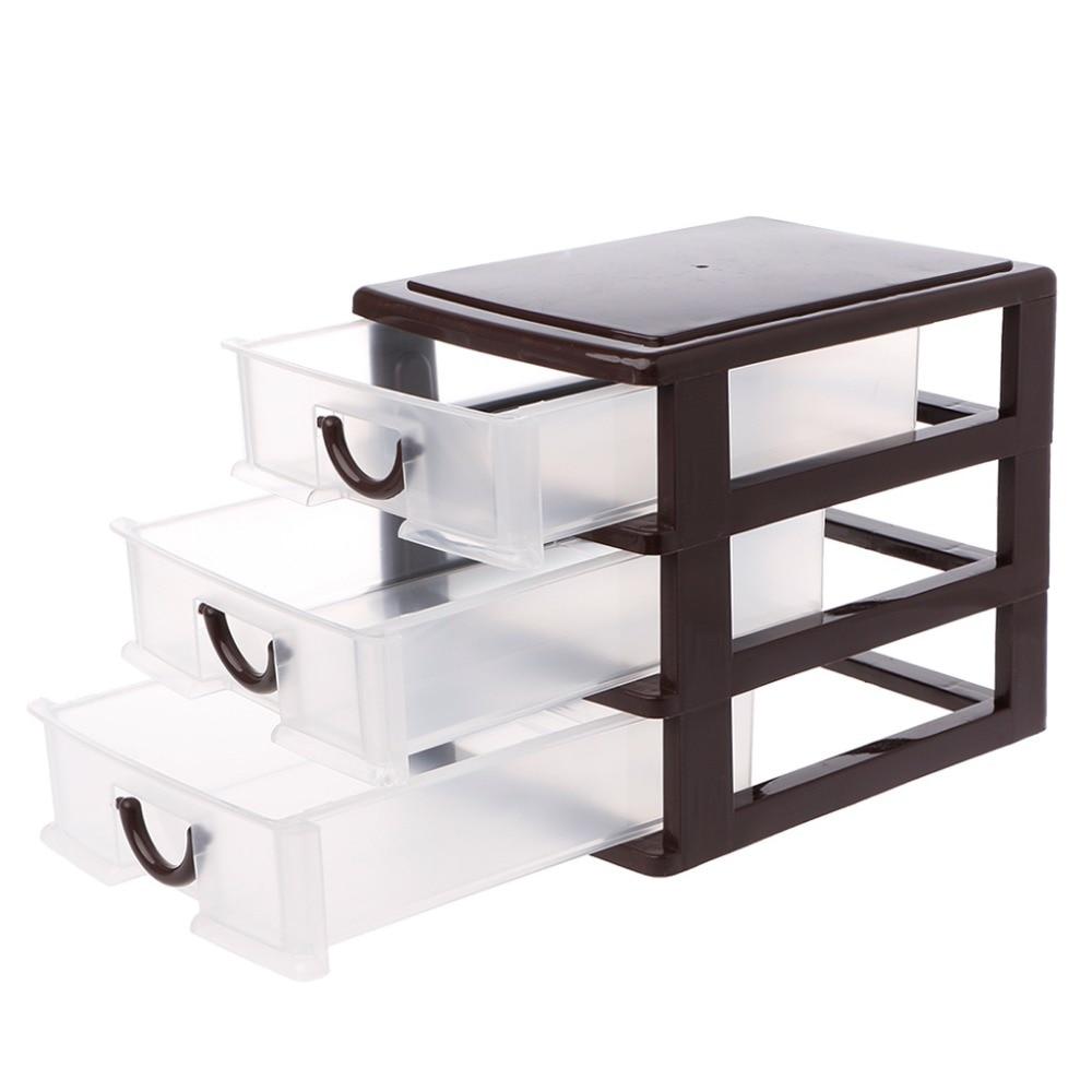 Drawer Durable Plastic Desktop Organizer Table Desktop ...
