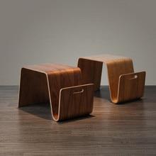 End-Table Furniture-Side Bentwood Living-Room Mid-Century-Design Modern for Breakfast