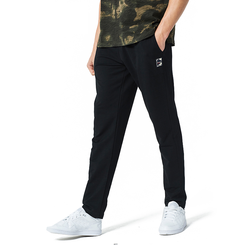 YWSRLM Spring Summer Sweat Pant Men Street Men Pants Straight Male Elasticity Classic Casual Trousers Full Length US Size S-XXL
