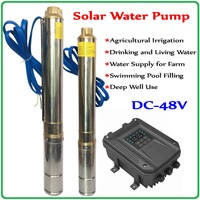 DC Solar Pump 48V Brushless high speed solar deep well pump permanent magnet synchronous motor for home & agriculture