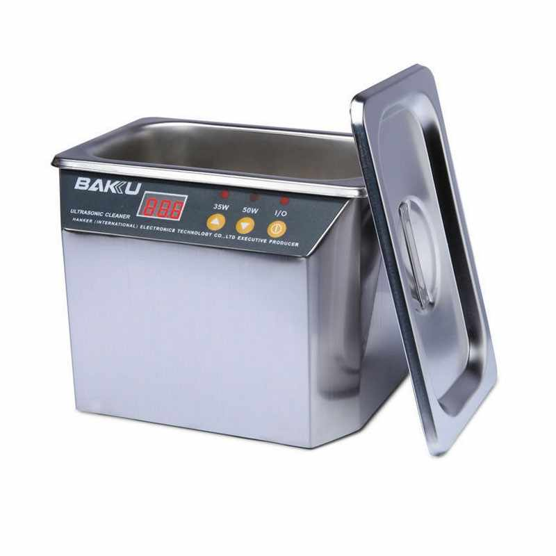 30W/50W 220V/110V Digital Ultrasonic Cleaner Bath Stainless Cleanning Jewelry Watch Glasses Circuit Board limpiador ultrasonico