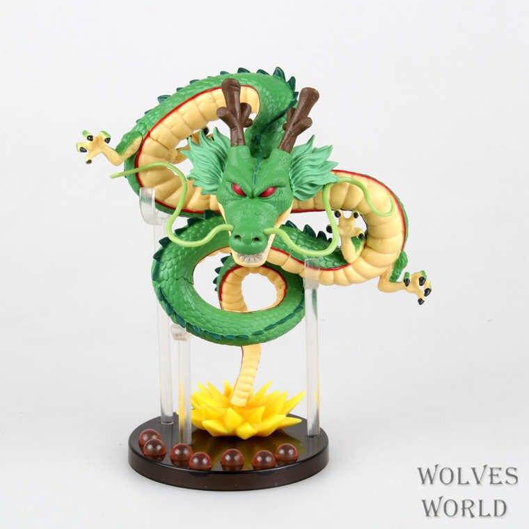 Аниме мультфильм Dragon Ball Z esferas дель дракона с хрустальными шарами shenron Shenlong ПВХ фигурку Коллекционная модель детские игрушки ...