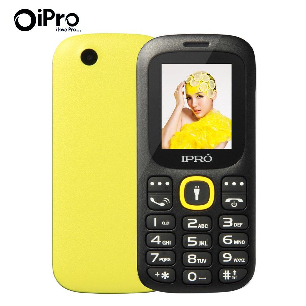 Оригинальный IPRO I3185 две SIM карты разблокирована мобильные телефоны GSM SC6531DA 1.77 дюймов Bluetooth сотовый телефон с английским испанская язык телефоны оригиналы