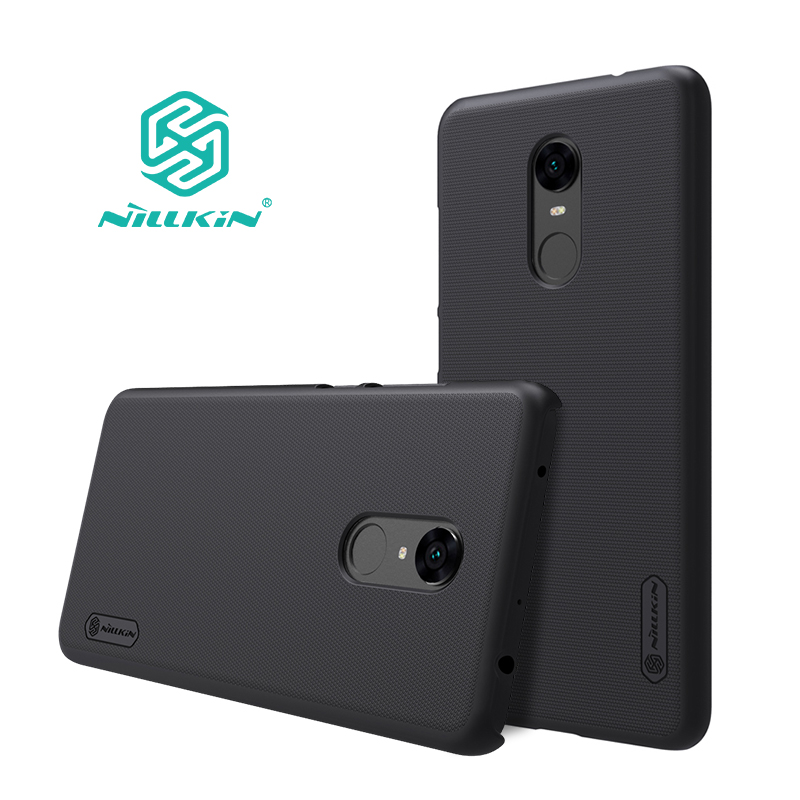 redmi 5 plus case cover NILLKIN Frosted PC hard back cover with Gift Screen Protector for xiaomi redmi 5 plus case 5.99 inch