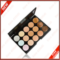 Professional 15 Color Concealer 15 colors Facial Face Cream Care Camouflage Makeup base Palettes Cosmetic C15#