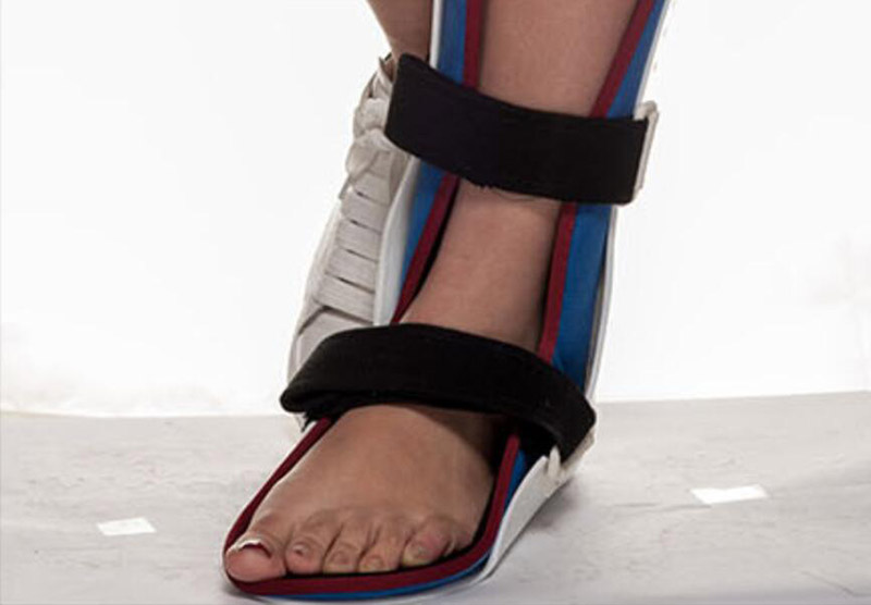 Verstelbare enkel voet orthese ondersteuning voet ondersteuning spalk enkelbrace ondersteuning kind (aanpasbare) flx 0006 - 4
