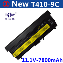 7800mAh Battery For Lenovo ThinkPad Edge E40 E50 L410 L412 L420 L421 L510 L512 L520 SL410 SL510 T410 T420 T510 T520 W510 W520