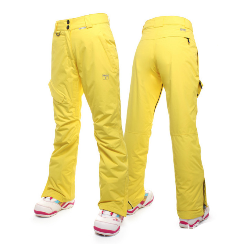 e04470c10f NANDN Winter Women Ski Pants Snowboard Pants Thicken Female Woman Snow  Trousers Thermal Waterproof Skiing Snowboarding Climbing-in Skiing Pants  from Sports ...