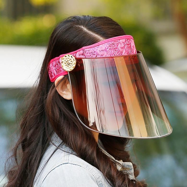 Newly Design UV Protection Sun visor Cap Wide Brim Hat Visor Sun Plain Hat  Sports Cap Colors Golf Tennis Beach Hat bed429c5687