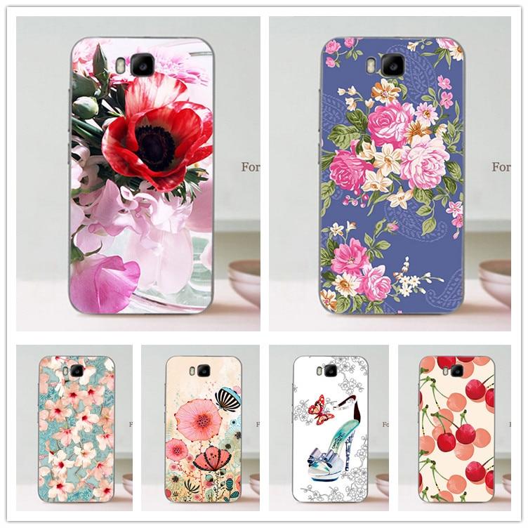 For Huawei Honor Bee Y5C Y541 cartoon DIY Colored Paintied Case for Huawei Y5C y541 phone case