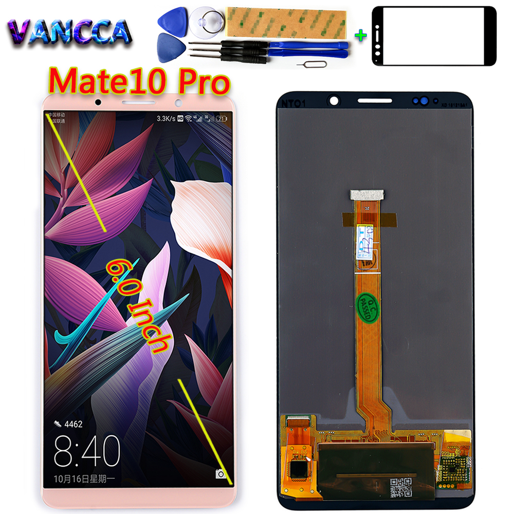 Vancca 6 0 inch LCD Display For Mate 10 Pro 2160 1080 Touch Screen Digitizer Assembly
