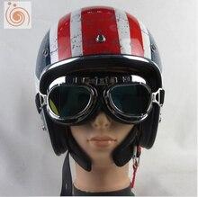 Free shipping TORC genuine high-end electric car classic retro knight helmet half helmet