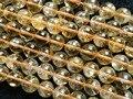 Frete grátis natural claro 10mm citrino rodada grânulos de cristal de pedra para fazer jóias