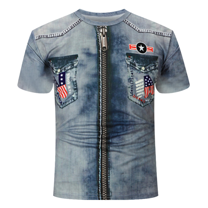 2019Summer New 3d cowboy T shirt Men Short sleeve shirt Funny T shirts Rock Japan Punk Anime Gothic Rock 3dT shirt Mens Clothing-in T-Shirts from Men's Clothing on Aliexpress.com | Alibaba Group