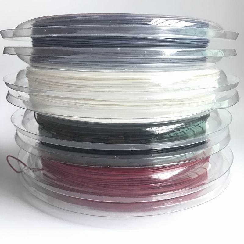 Free Shipping(1reel/lot)Durable/Savage String Reel/Power Polygon Tennis String