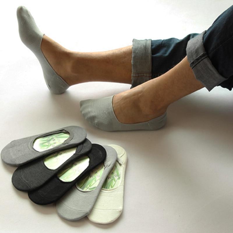 3pairs Women Socks Slippers No Show Non-slip Invisible Socks