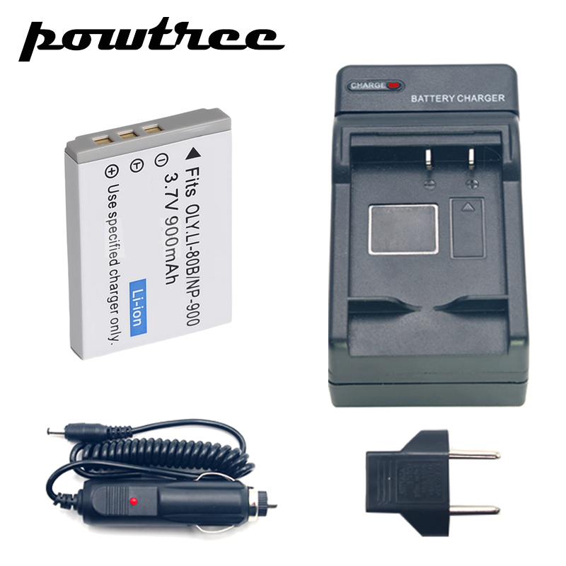 battery Charger+car Charger For Minolta Np-900 Ve40 E50 Aigo V760/880/1080 Benq E40/ Digital Batteries Consumer Electronics 1packs Np-900 Li-ion Battery 3.7v 900mah