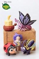 Mini kleine Spielzeug pvc-abbildung cartoon film Bug Leben niedliche kleine insekten dekoration 5 teile/satz