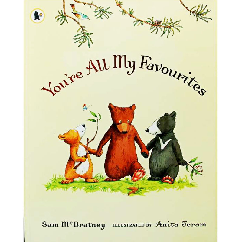 You're All My Favorites By Sam McBratney Educational English Picture Book Learning Card Story Book For Baby Kids Children Gifts