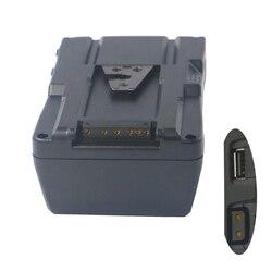 130Wh (8800 мАч/14,8 в) V Mount батарейный блок V Lock V type интерфейс для видеокамеры sony камера BP батарея