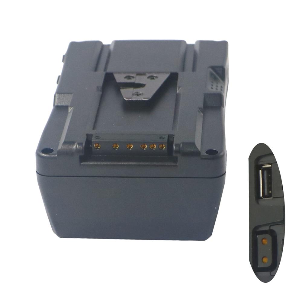 130Wh (8800mAh/14.8V) V montage batterie Pack V serrure V type interface pour caméra vidéo caméscope pour Sony caméra BP batterie