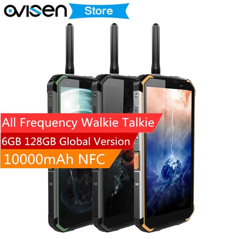 Blackview BV9500 PRO 5.7 Inch Walike Talkie Smartphone MT6763T 6GB 128GB IP68 Waterproof 10000mAh NFC Android 8.1 Mobile Phones smartphone