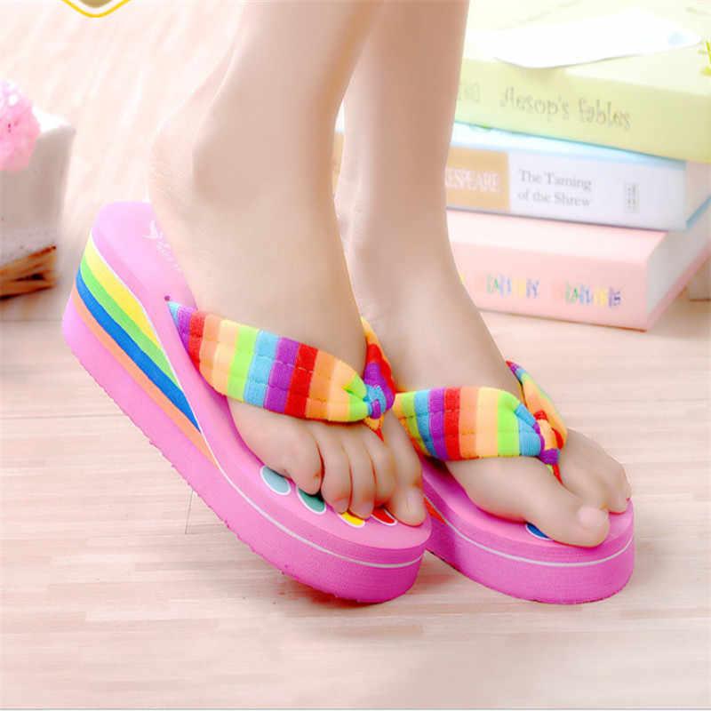 587de50c7 Женские домашние сандалии пляжная обувь для плавания подростковые шлепанцы  для девочек детские повседневные тапочки домашняя обувь