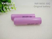 Bateria de Lítio V para Samsung 2 Inr18650 30Q Pcs.100 % Novidade Original 3000 MAH 3.7 18650 Cigarro Eletrônico DA Bateria Frete Grátis
