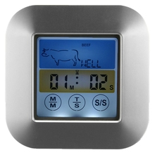font b Digital b font Food Meat font b Thermometer b font with LCD Touch