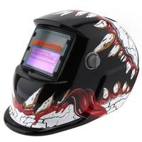 Adjust Solar Power Auto Darkening TIG MIG Grinding Welding Helmets Face Mask Electric Welding Mask