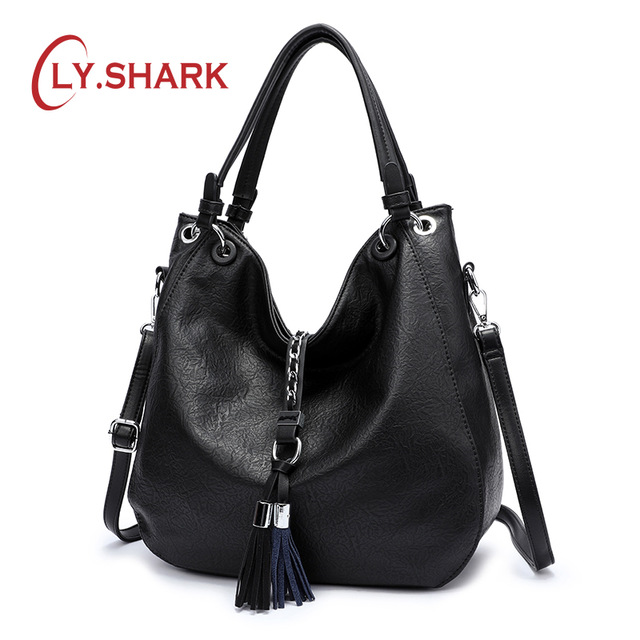 LY SHARK Luxury Handbags Women Bags Designer Bag Ladies PU Leather Women Handbags Famous Brand Woman