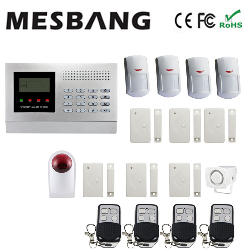 2017 gsm home alarm system with pir sensor door sensors wireless outdoor siren security alarm system wireless free shipping thyssen parts leveling sensor yg 39g1k door zone switch leveling photoelectric sensors