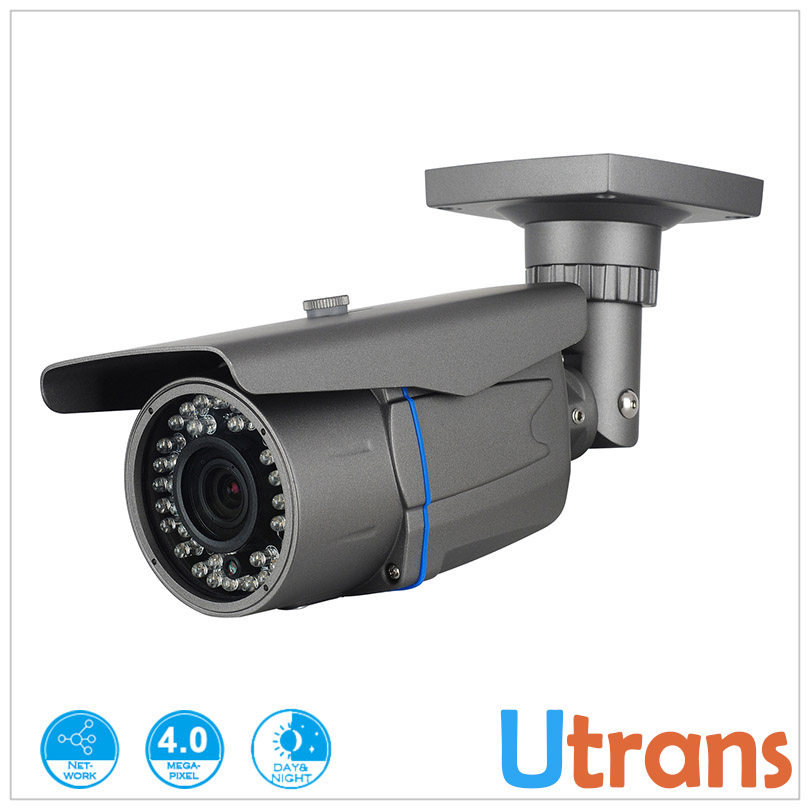 ФОТО IP Camera 4.0MP P2P Mobile Phone View Onvif H.264 Water-proof IP66 40m Night Vision IP Network Camera Internet Security Camera