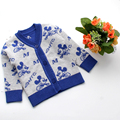 Casual Newborn Sweater Knitted Boys Girls Coat Cotton Cardigan Infant Sweaters Cartoon Long Sleeve Toddler Outfits Baby Clothing
