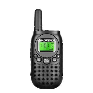 Image 2 - Baofeng BF T6 0.5w Mini Walkie Talkie bambini Radio Comunicador Radio portatile Amador Hf ricetrasmettitore Radio a 2 vie T6 Woki Toki Radio