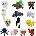 14pcs/lot Minecraft plush toy Brinquedos Game Toys Cheapest Sale High Quality Plush Toys Cartoon Game Toys